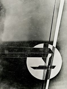 Composition, Laszlo Moholy-Nagy, 1931.    Great balance, love the grungy feeling to it too..