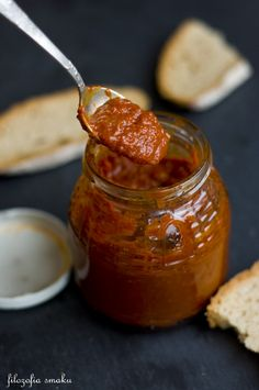 Chutney, Hummus, Polish Recipes, Grilled Meat, Dinner Dishes, Barbecue Sauce, Canning Recipes, Pesto, Food And Drink