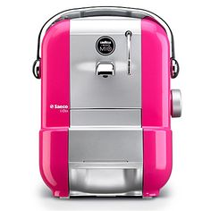 If CoffeeBot ever breaks! LAVAZZA Saeco A Modo Mio Extra coffee machine pink