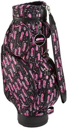 Sydney Love Ladies Cart Golf Bags - Fuchsia (Pink & Black) $249.99
