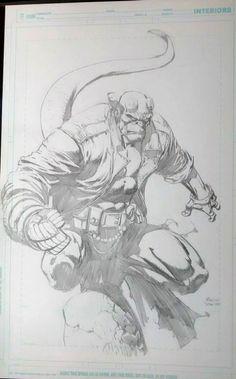 Hellboy by David Finch Comic Art
