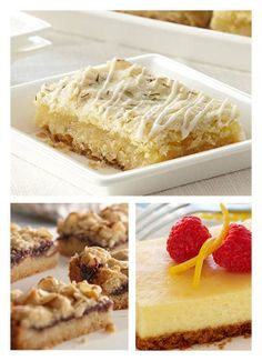 Sweet and crumbly bite-sized treats that really raise the bar. Baking in a 13x9-inch pan is easy (and cleans up nicely) when you first line the pan with foil. Allow the ends of the foil to...