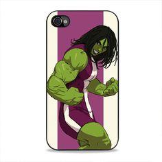 She Hulk Ultimate Marvel Vs Capcom iPhone 4, 4s Case