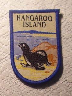 Vintage Souvenir Patch Kangaroo Island Seal • sold $9.15 post $1.50