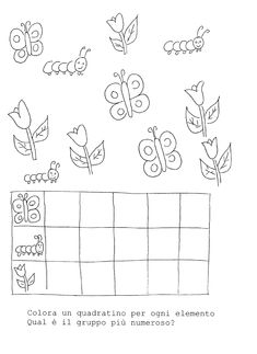 The cute teacher: Spring- La maestra Linda : Primavera The cute teacher: Spring - Kindergarten Crafts, Preschool Crafts, Preschool Activities, Crafts For Kids, Insect Activities, Simple Math, Bugs And Insects, Pre School, Coloring Pages