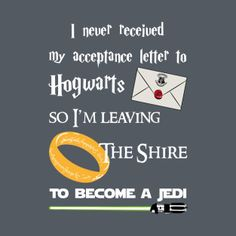 Lord of the rings/Harry potter/Star Wars
