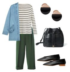 """Weekend"" by ayresalexandra on Polyvore featuring P.A.R.O.S.H., The Row, Steve J & Yoni P, MANGO and Skagen"