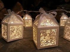 Magical lantern fairy lights, cream, ivory, perfect Christmas or wedding decoration