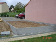 Parking Plan, Outdoor Furniture, Outdoor Decor, Outdoor Storage, Extensions, Sidewalk, Construction Garage, Decoration, House