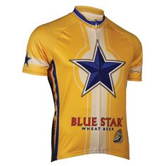 North Coast Blue Star Cycling Jersey - FREE Shipping on great cycling jerseys at cyclegarb.com