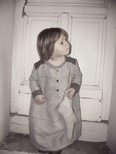 Mon petit drap créations, robe et doudou en lin