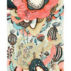 Illustration from Yellena James. Boho Pattern, Yellena James, Illustration Art, Illustrations, Art Graphique, Art Plastique, Prints For Sale, Surface Design, Doodles