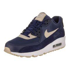 Nike Women s Air Max 90 Blue Running Shoes (7.5) Air Max Women 1830bf144