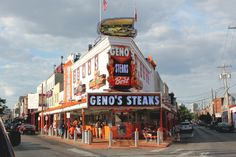 Geno's (and Pat's) - Philly, PA