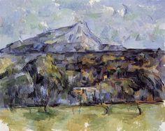 Mont Sainte-Victoire Seen from les Lauves, 1906 - Paul Cezanne