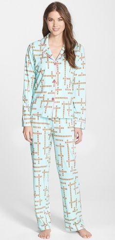 scrabble pajamas
