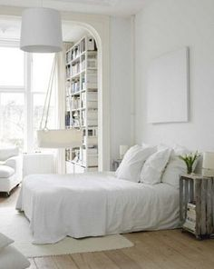 48 Impressive Bedroom Design Ideas In White