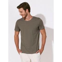 unite basic organic cotton round neck t-shirt - men