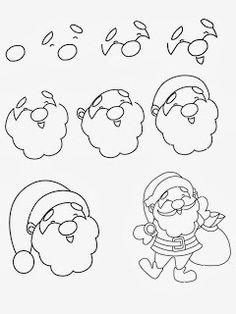 Easy Christmas Drawings In Pencil Paintings Christmas Drawing