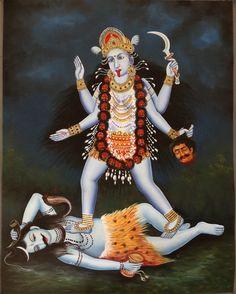 Kali Ma Goddess Art