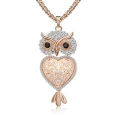 Alas de encaje de princesa de Filigrana Mariposa Diamante Imitación Colgante Collar Regalo