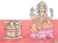 How to Perform Lakshmi Pooja on Diwali: 14 Steps (with Pictures)