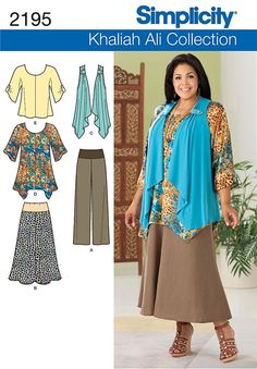 plus size patterns for dresses - Buscar con Google