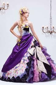 「和柄ドレス」の画像検索結果 Nice Dresses, Prom Dresses, Formal Dresses, Wedding Dresses, Character Outfits, Night Gown, Strapless Dress Formal, Marie, Ball Gowns