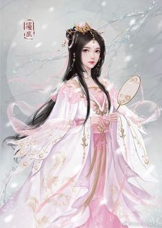 Do you love to read Chinese novels? Try these light and funny ones on Flying Lines. Fantasy Art Women, 3d Fantasy, Beautiful Fantasy Art, Beautiful Anime Girl, Fantasy Girl, Chinese Drawings, Chinese Art, Anime Angel Girl, Anime Art Girl
