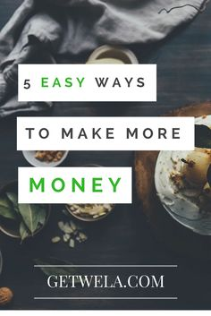 There are some quick and easy ways to pump up your cash flow in the short term. Here are five ideas to get you started.