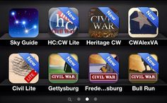 Free Civil War apps... jackpot if you teach American history!