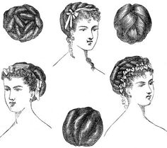 Victorian Hair Styles - Image 2 - sooooo much ephemera
