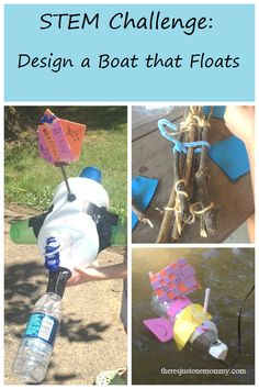 STEM Challenge: Design a Boat that Floats, a fun engineering activity for kids