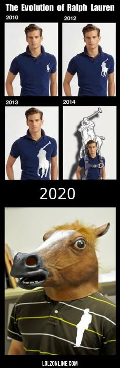 The Evolution Of Ralph Lauren#funny #lol #lolzonline