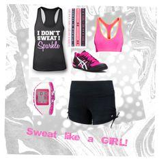 sweat like a girl
