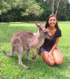 Hoppin' around with the Aussie locals  #currumbinwildlifesanctuary #goldcoast #australia #travel by gabbymguerra http://ift.tt/1X9mXhV