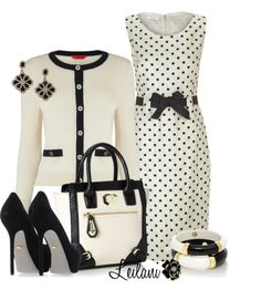 """Black and White"" by leilani-almazan on Polyvore"