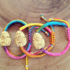 Children's Buddha Bracelets by jenstock.com by jenstock on Etsy