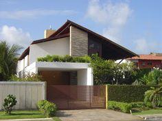 Modern Exterior House Designs, Modern House Design, Exterior Design, Roof Architecture, Minimalist Architecture, Architecture Quotes, Village House Design, Contemporary House Plans, Villa Design