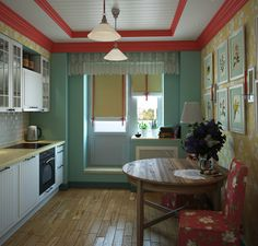 Бюджетные материалы и самая простая мебель в сочетании с дизайнерской мыслью, хорошим вкусом и свежим взглядом могут сделать однокомнатную квартиру очень вместительной и комфортной.