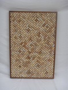 I make cork boards out of old wine corks. Many sizes, shapes, and designs.
