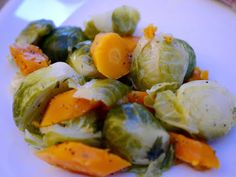 Brussels Sprouts and Carrots