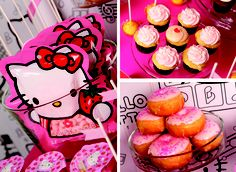 via amyatlas styled by PaperGlitter. Hello Kitty Party