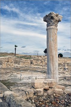 Standing tall | Kourion archeological site, Cyprus