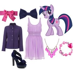 """Twilight Sparkle - Canterlot Gown"" by catloverd on Polyvore"
