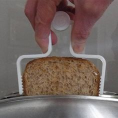 3D Printable Toast Extractor... The Safe And Easy Way To Remove Toast From A Toaster by Muzz64