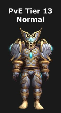 This article presents the PvE tier 13 sets for Paladin and explains how to obtain them. Paladin Transmog, Angel Warrior, World Of Warcraft, Superhero, Fictional Characters, Fantasy Characters