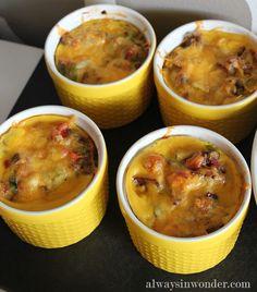Individual Frittata Recipe, Recipe, Breakfast, Holiday, Ethnic