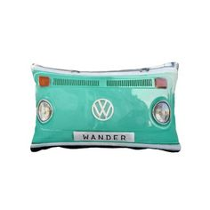 Rest your head on one of Zazzle's decorative & custom throw pillows. Colorful Pillows, Decorative Throw Pillows, Vw Hippie Van, Chair Cushions, Bed Pillows, Jetta A4, Big Comfy Chair, Old Classic Cars, Tea Art