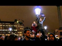 "JE SUIS CHARLIE - LONDRES TRAFALGAR SQUARE LONDON ""I am Charlie"" #1 4k UHD FZ1000 ""I am Charlie"" - YouTube #jesuischarlie #charliehebdo"